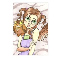 Owl smarts Postcards (Package of 8)