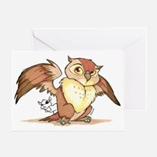 Owl Shhh Greeting Card