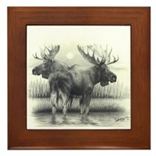 Wild Life Framed Tile