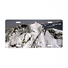 Mountain top Suprise. Aluminum License Plate