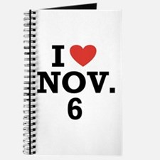 I Heart November 6 Journal