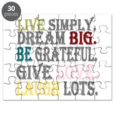 Live Simply Puzzle