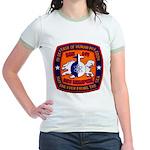 USS MEMPHIS Jr. Ringer T-Shirt