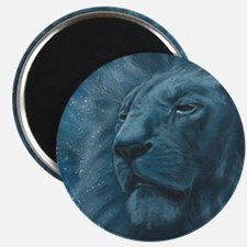 Ghostly Lion Magnet