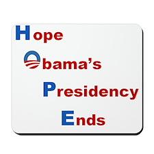 Obama5-revise Mousepad