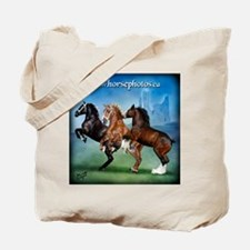 Horsephotos Tote Bag