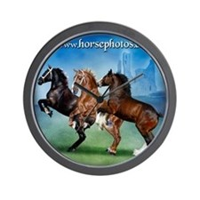 Horsephotos Wall Clock