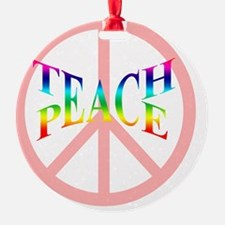 teachpeacepillow Ornament
