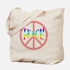 teachpeacepillow Tote Bag