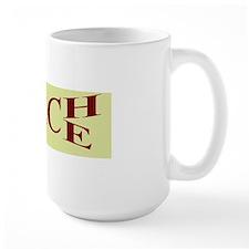 teachpeacebumpersticker Mug