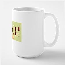 teachpeacealuminumlicenseplate Mug