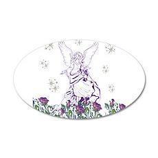 Lilac Angel Wall Sticker