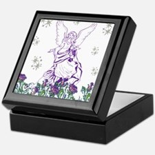 Lilac Angel Keepsake Box