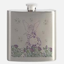 Lilac Angel Flask