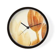 tulip ipad_case Wall Clock