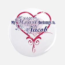 "Heart Jacob 3.5"" Button"