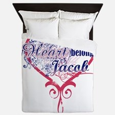 Heart Jacob Queen Duvet