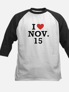 I Heart November 15 Tee