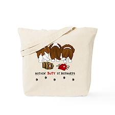 StBernardButtsNew Tote Bag