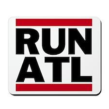 RUN ATL_light Mousepad