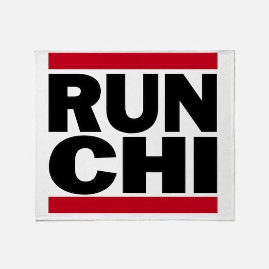 RUN CHI_light Throw Blanket