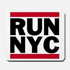 RUN NYC_light Mousepad