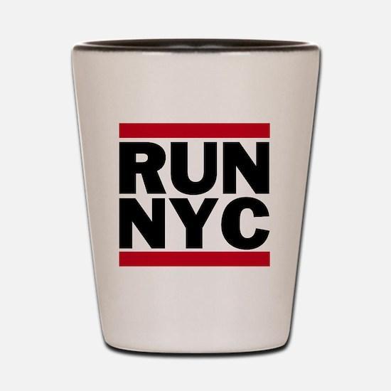 RUN NYC_light Shot Glass