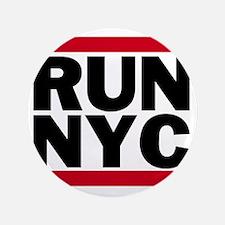 "RUN NYC_light 3.5"" Button"