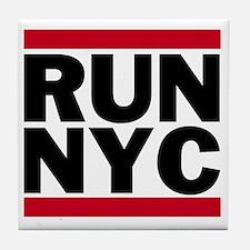 RUN NYC_light Tile Coaster
