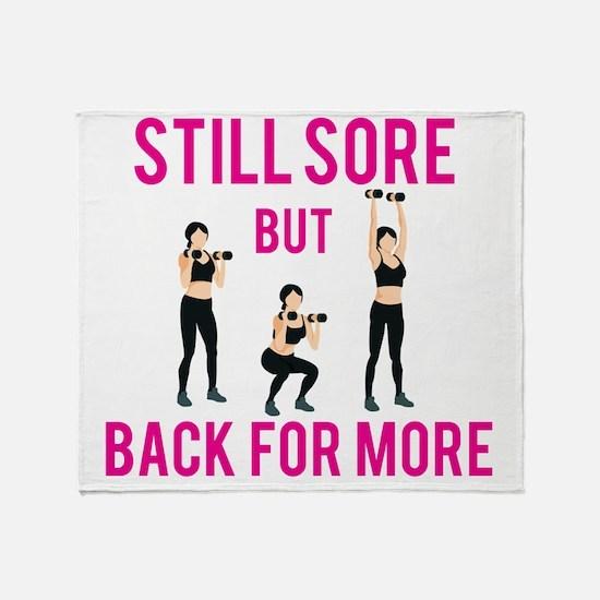 Unique Gym Throw Blanket