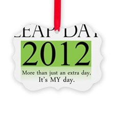 leapday2012 Ornament