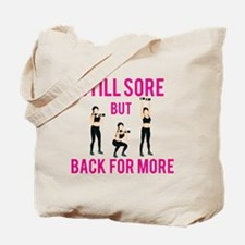 Unique Funny work out Tote Bag