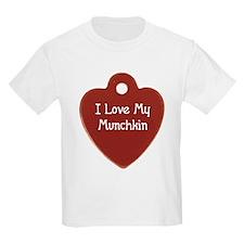 Love Munchkin Kids T-Shirt