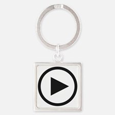 playw Square Keychain