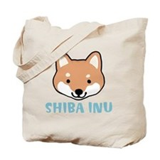 shibafacewords Tote Bag