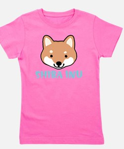 shibafacewords Girl's Tee