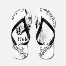 We love horses - and we love to show! Flip Flops