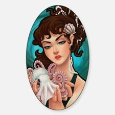 octopinup Sticker (Oval)