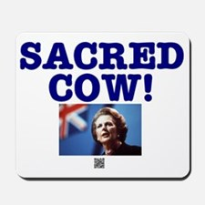 SACRED COW - MARGARET THATCHER Mousepad