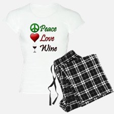 PeaceLoveWine Pajamas