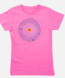 Planetary Alignment of 21.12.12 Girl's Tee