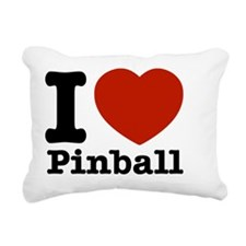 pinball Rectangular Canvas Pillow
