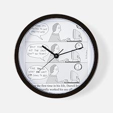 Darrells Ass Wall Clock