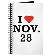 I Heart November 28 Journal