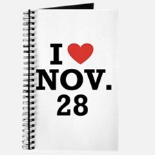 I Heart November 28 Journal