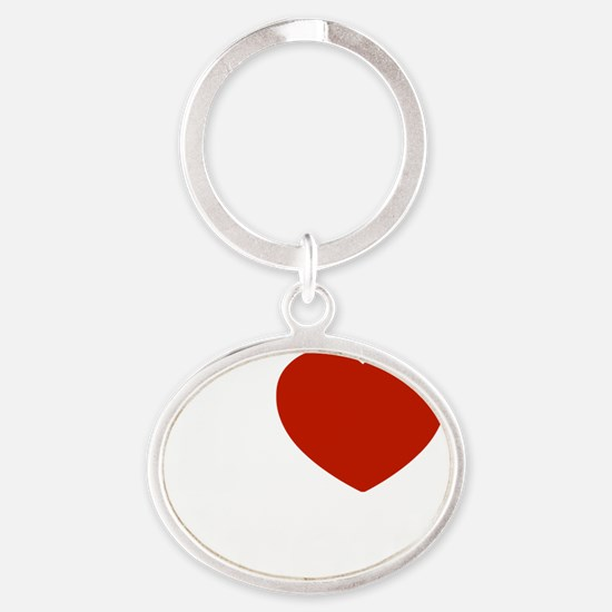 brett1 Oval Keychain