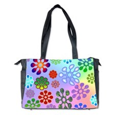 Flower Power Diaper Bag