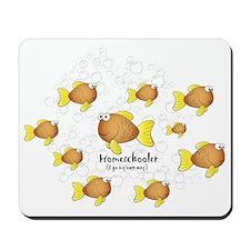 Homeschool Fish Mousepad