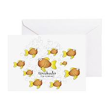 Unschool Fish Greeting Card