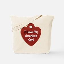 Love Curl Tote Bag
